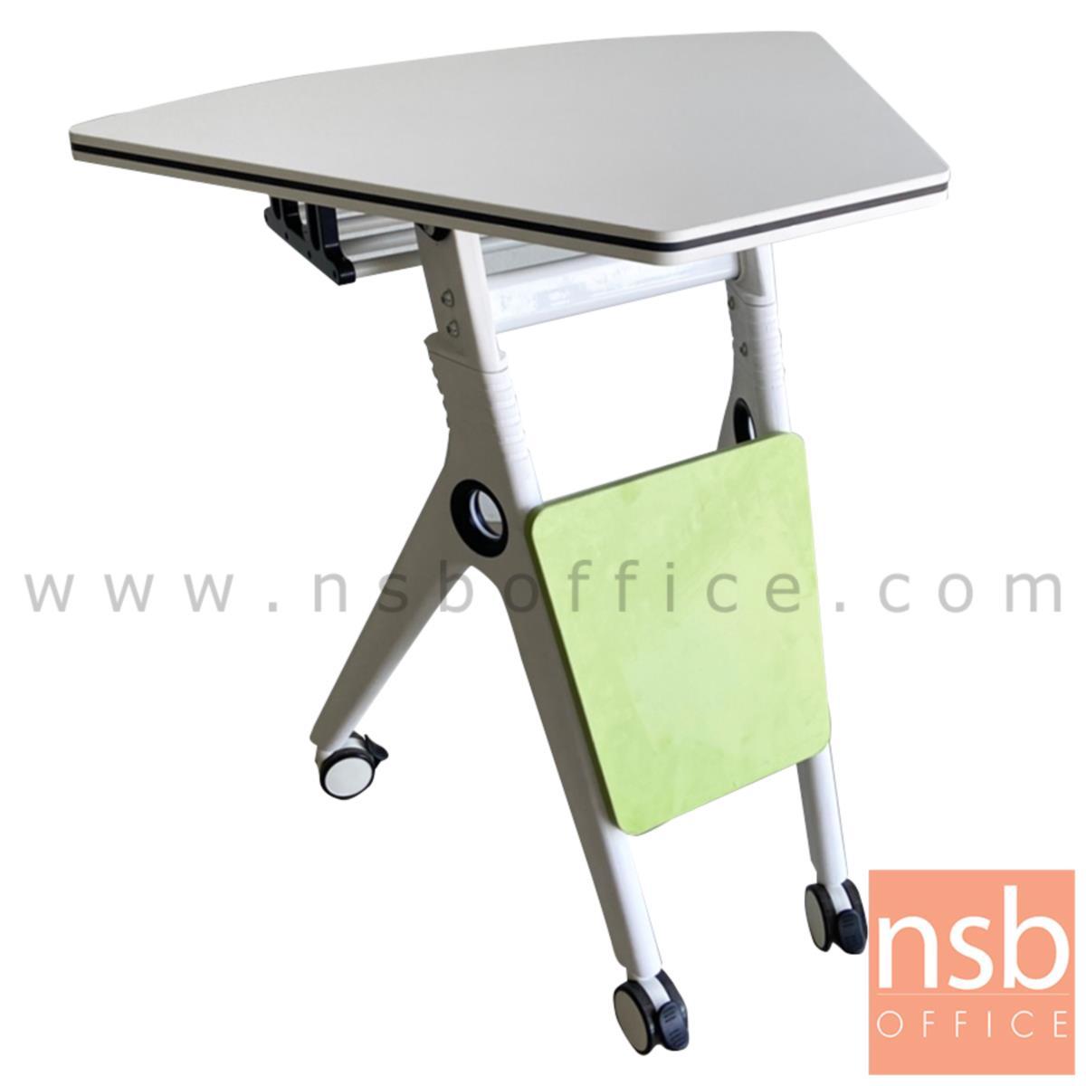 B30A054:โต๊ะพับล้อเลื่อน 1/6 รุ่น grass (แกรส)  มีที่เก็บของใต้โต๊ะ