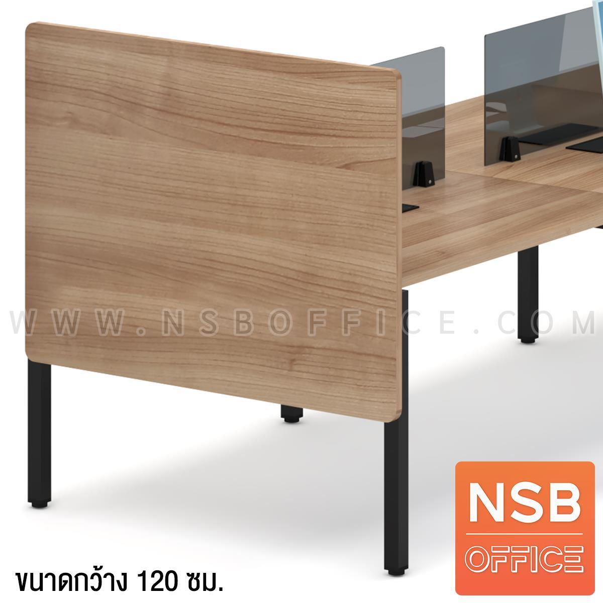 P04A053:พาร์ทิชั่นไม้กั้นด้านข้างสำหรับหัวโต๊ะ รุ่น Ringo (ริงโก) ขนาด 120W, 150W cm.