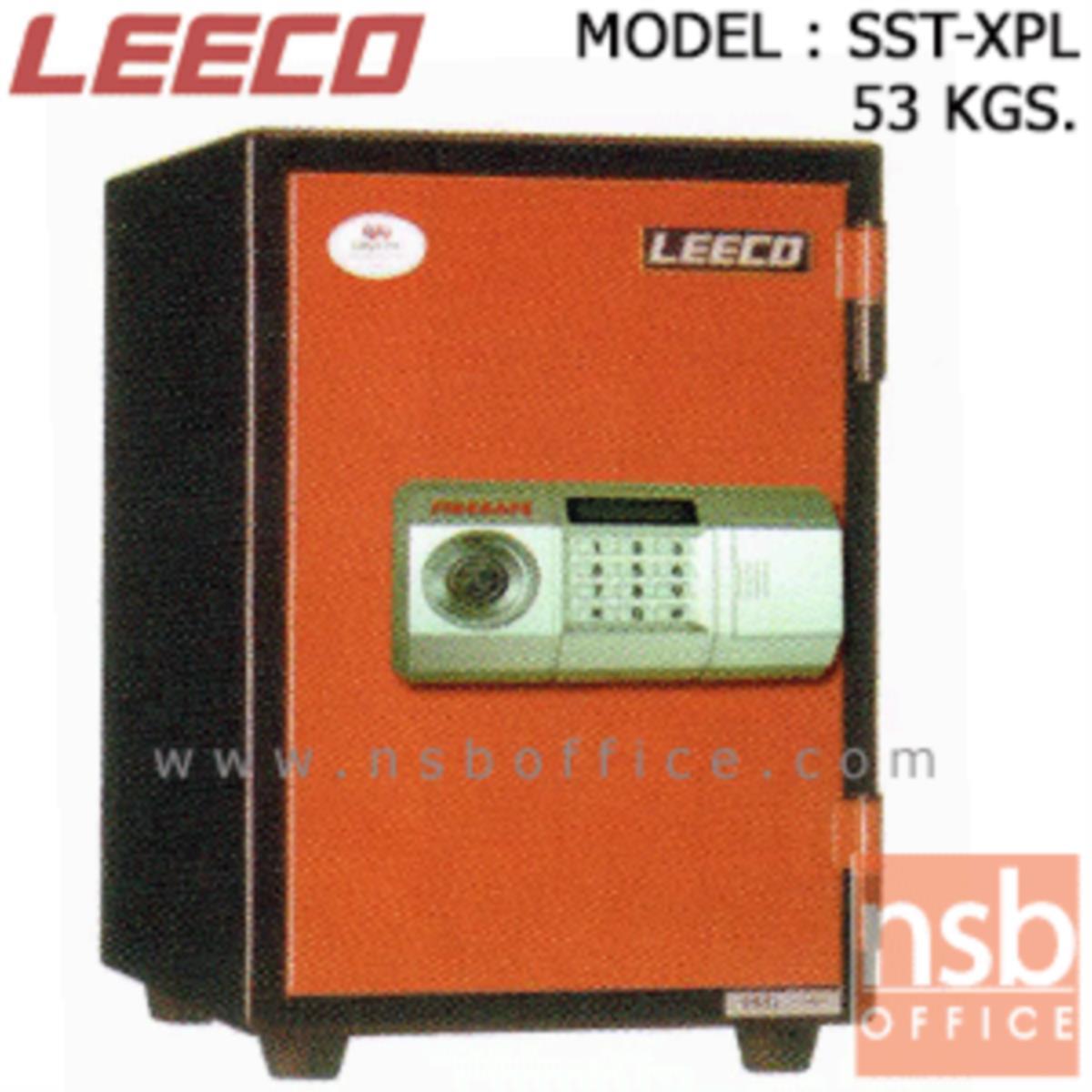 F03A003:ตู้เซฟนิรภัยดิจิตอลแนวตั้ง 53 กก. ลีโก้ รุ่น LEECO-SST-XPL มี  1 กุญแจ 1 รหัส