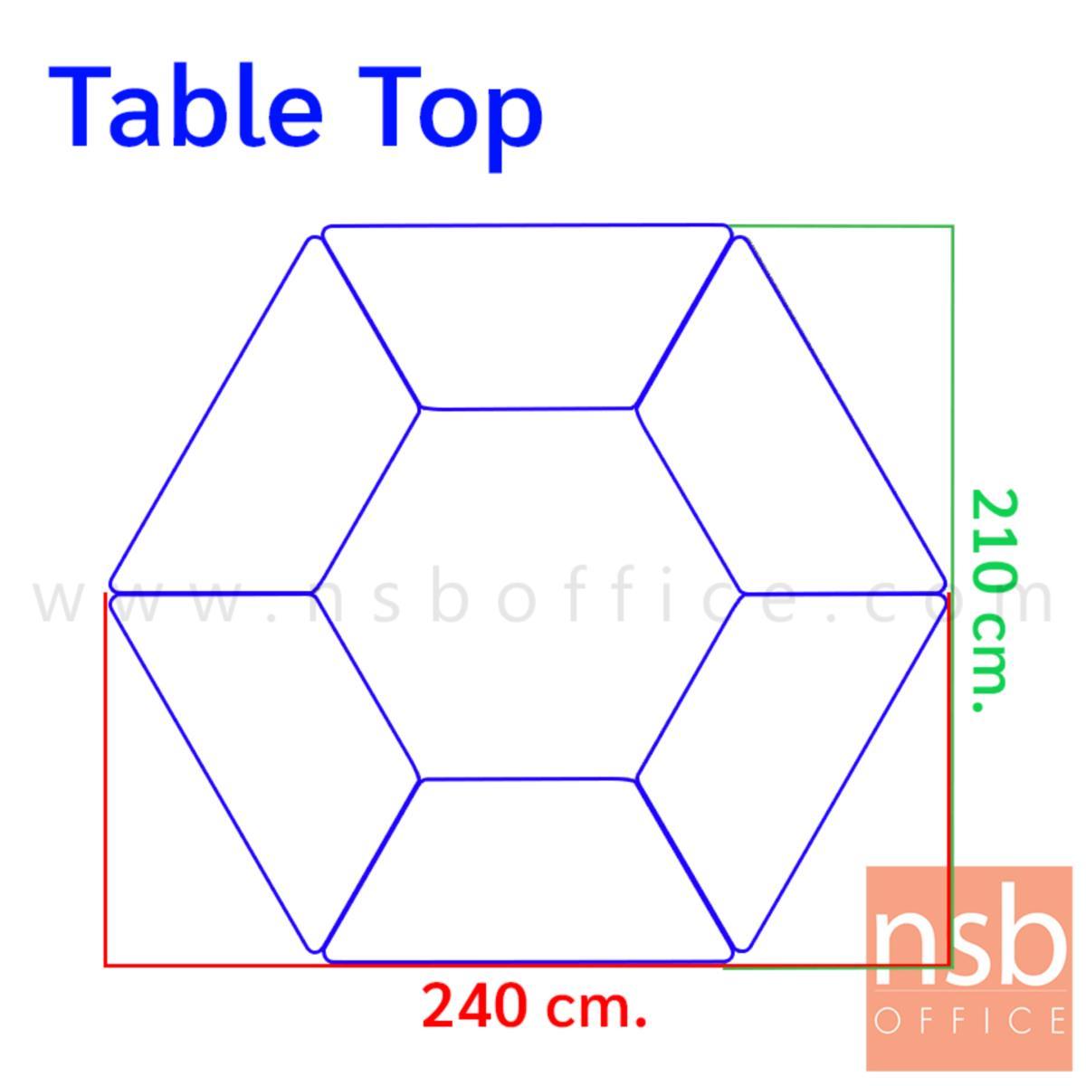 โต๊ะทำงานทรงคางหมู รุ่น Mulrey (มัลเรย์) ขนาด 120W cm.  โครงขาสีขาว (ราคาต่อตัว)