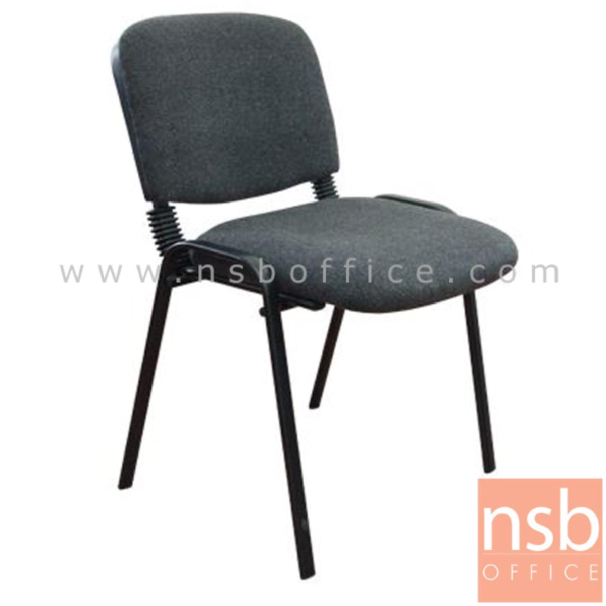 เก้าอี้รับแขก รุ่น Blackgray  ขาเหล็กพ่นดำ