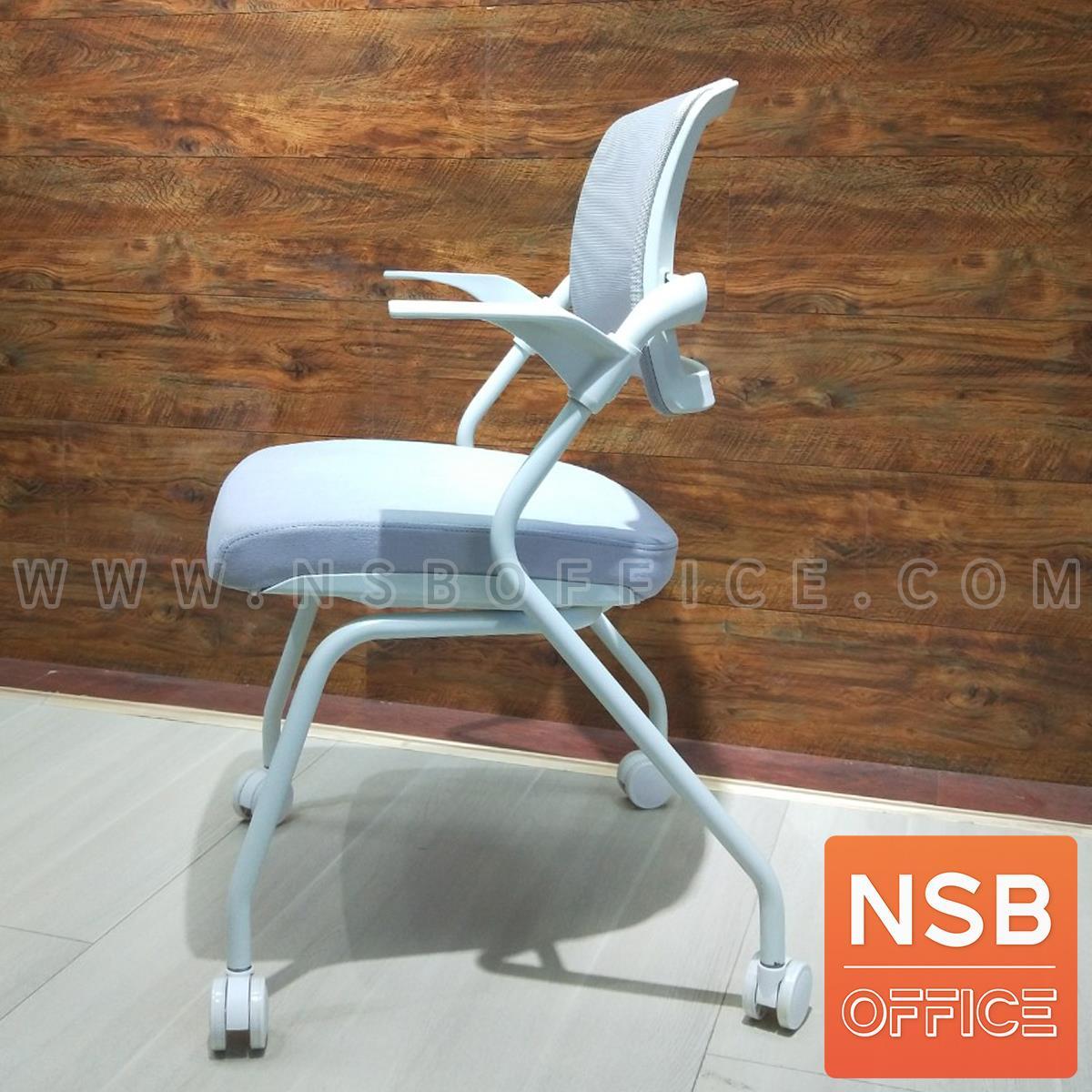 เก้าอี้อเนกประสงค์หุ้มผ้า รุ่น Shippie (ชิปปี้)  โครงขาเหล็ก