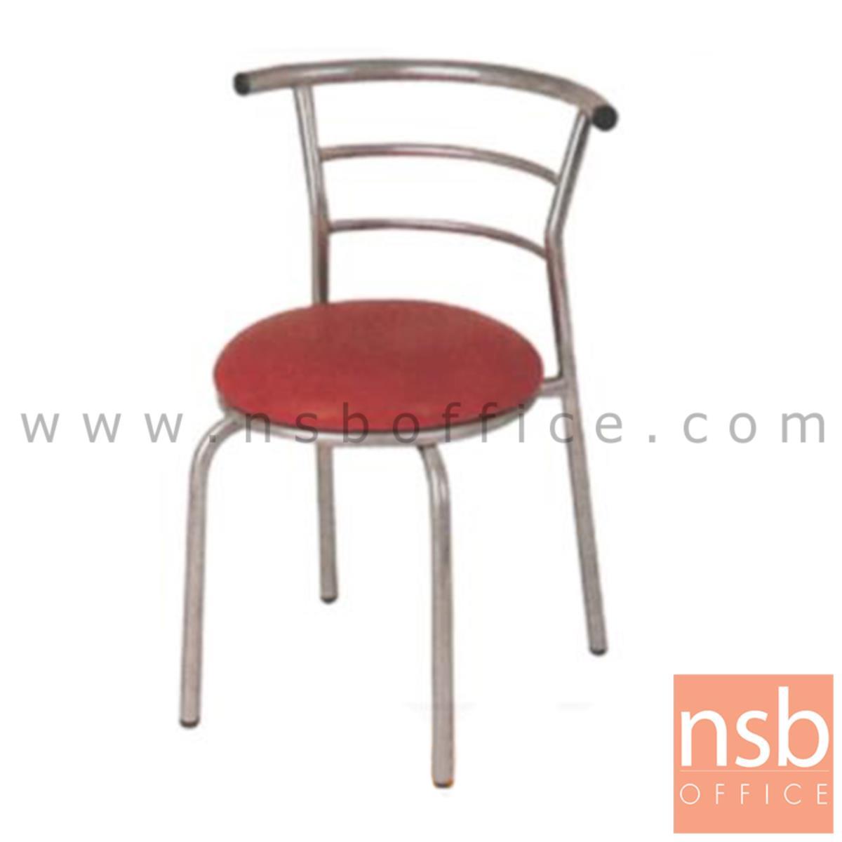 B05A077:เก้าอี้อเนกประสงค์ รุ่น  KSS-83A  ขาเหล็กชุบโครเมี่ยม