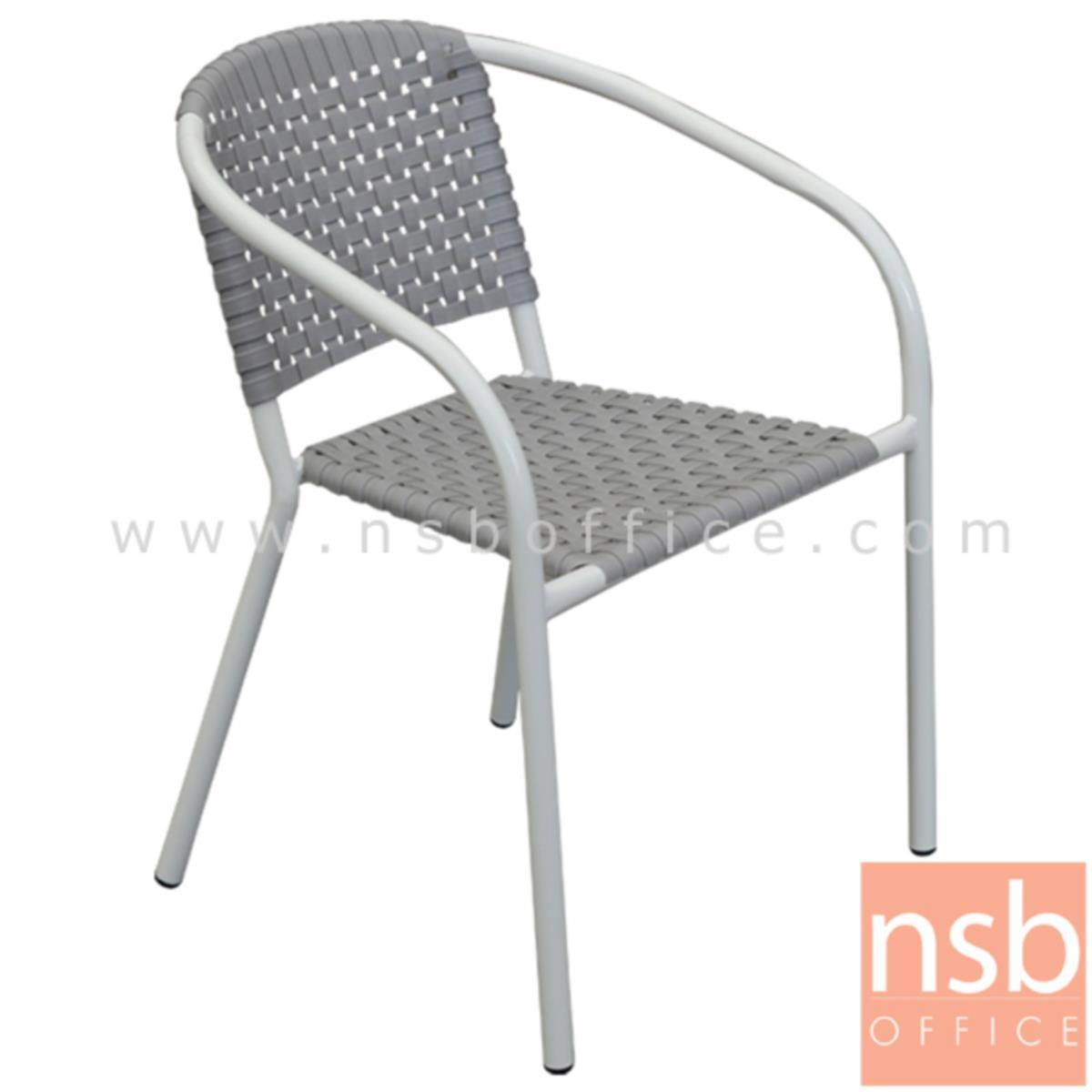 เก้าอี้อเนกประสงค์พลาสติก รุ่น Prentice (เพรนทิส)  โครงขาเหล็กพ่นเงา