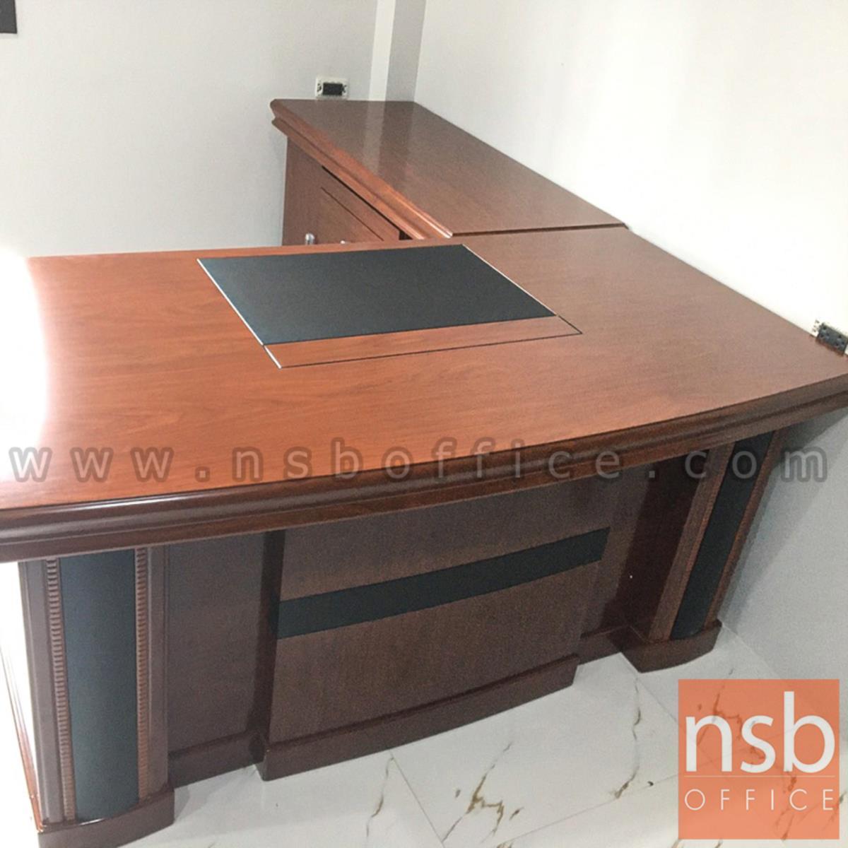 โต๊ะผู้บริหารตัวแอล รุ่น Daejeon (แดจอน) ขนาด 160,180,200 cm.