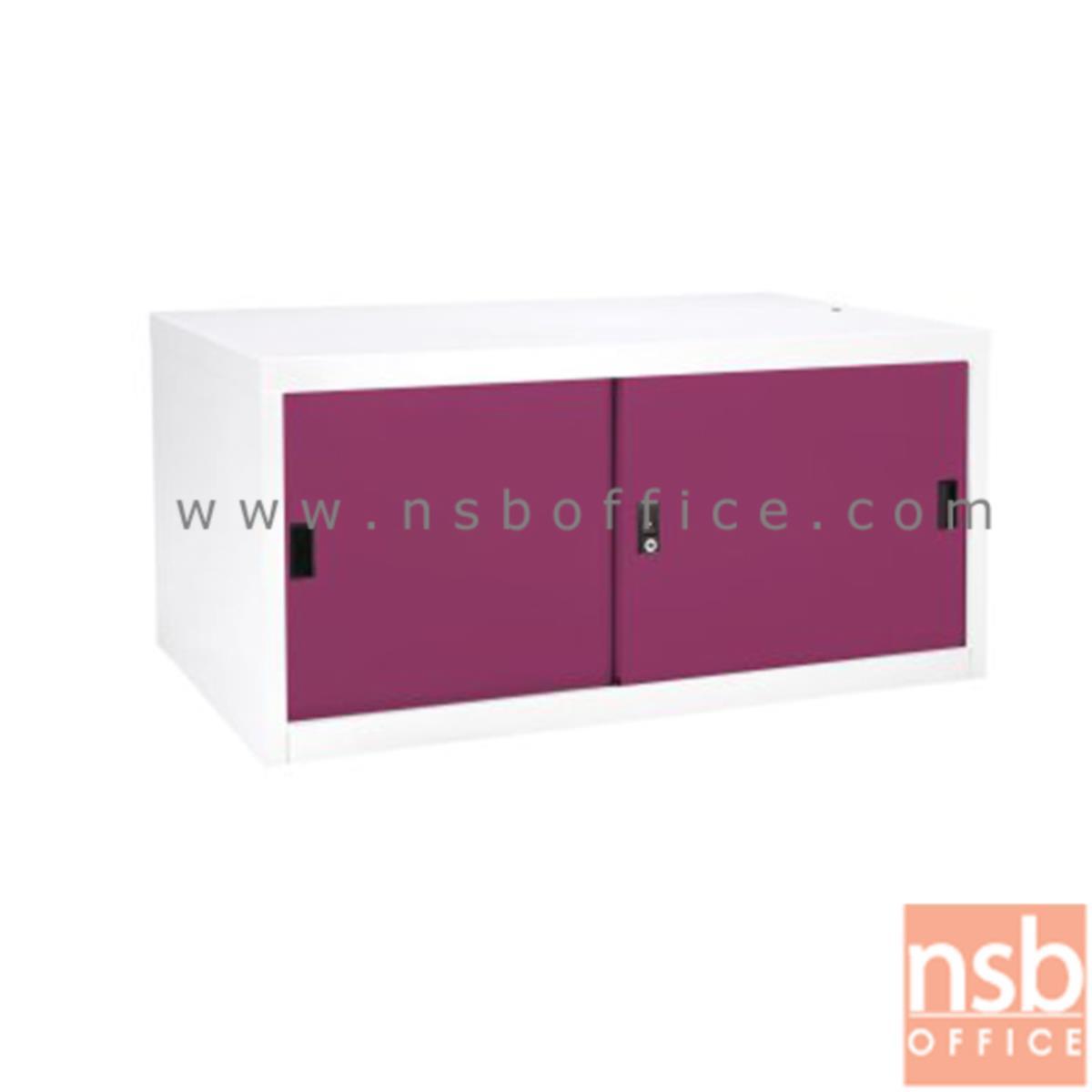 E23A012:ตู้เสริมบนตู้เสื้อผ้าเหล็ก บานเลื่อนทึบ (สูงรวม 226 cm.) รุ่น SDC-04