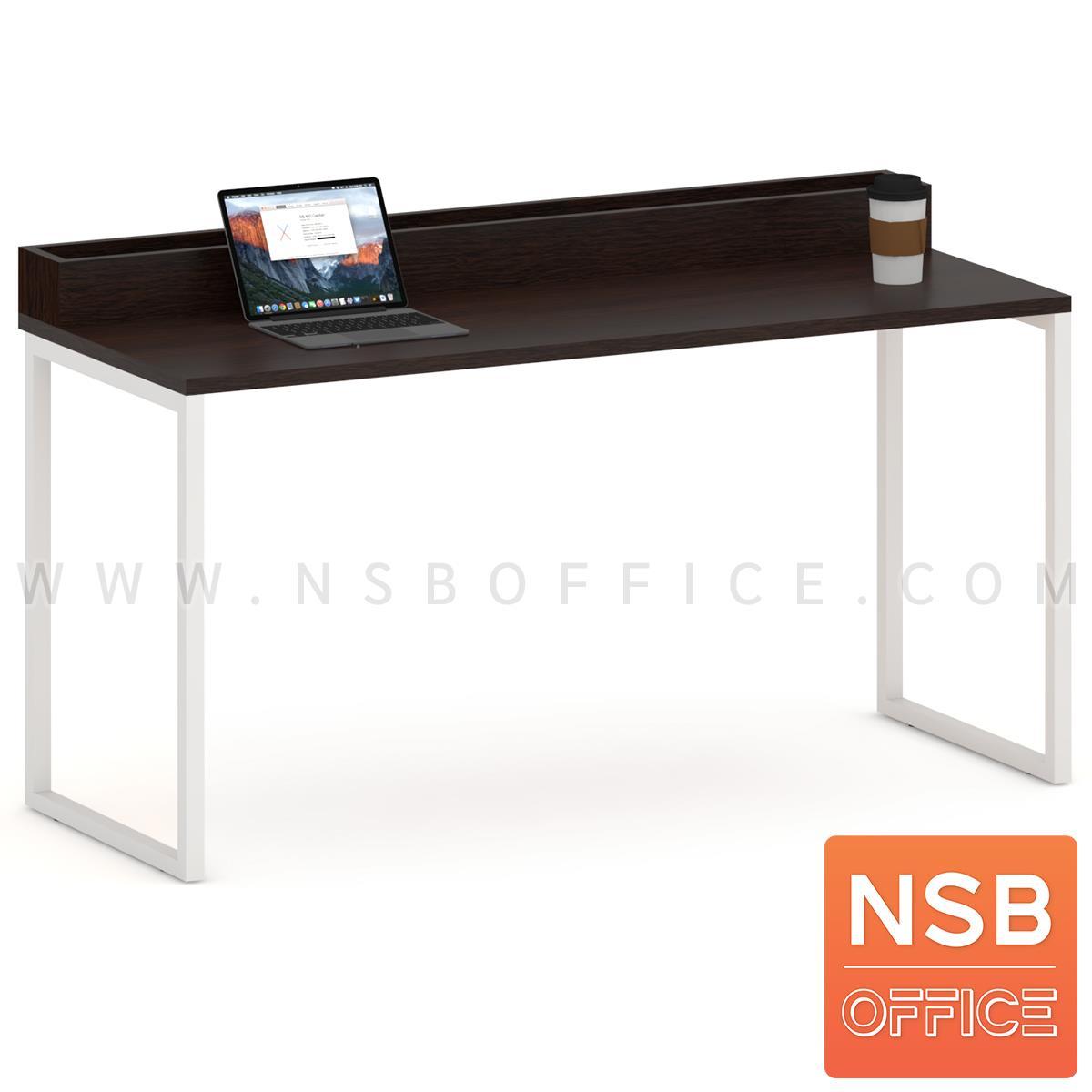 A14A217:โต๊ะโล่งพร้อมกล่องวางต้นไม้ 150W cm. CP-4004  ขาเหล็กทำสี