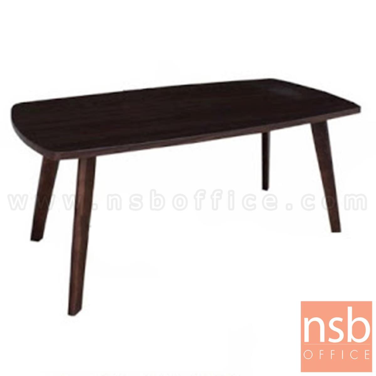 โต๊ะกลางไม้ รุ่น Angvish (แองวิช) ขนาด 100W cm. ขาไม้