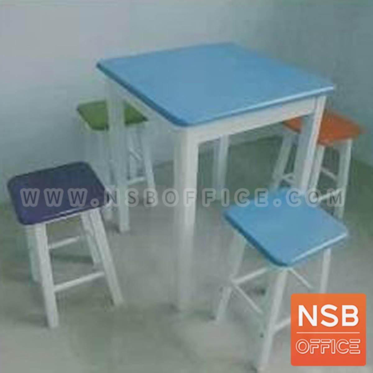G20A006:ชุดโต๊ะรับประทานอาหารไม้ยางพารา รุ่น Brody (โบรดี้) ขนาด 60Di,75Di cm. ขาไม้จริง