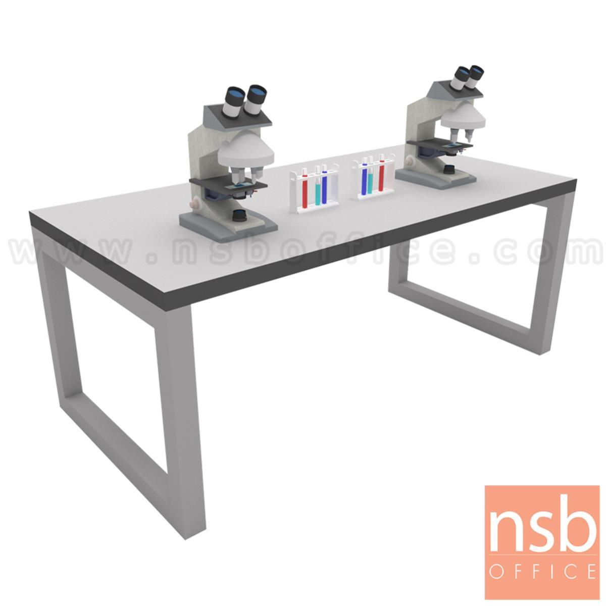โต๊ะงานทดลอง หน้า TOP คอมแพคลามิเนต  รุ่น BNS-1342 150W, 180W, 200W ขาเหล็ก EPOXY