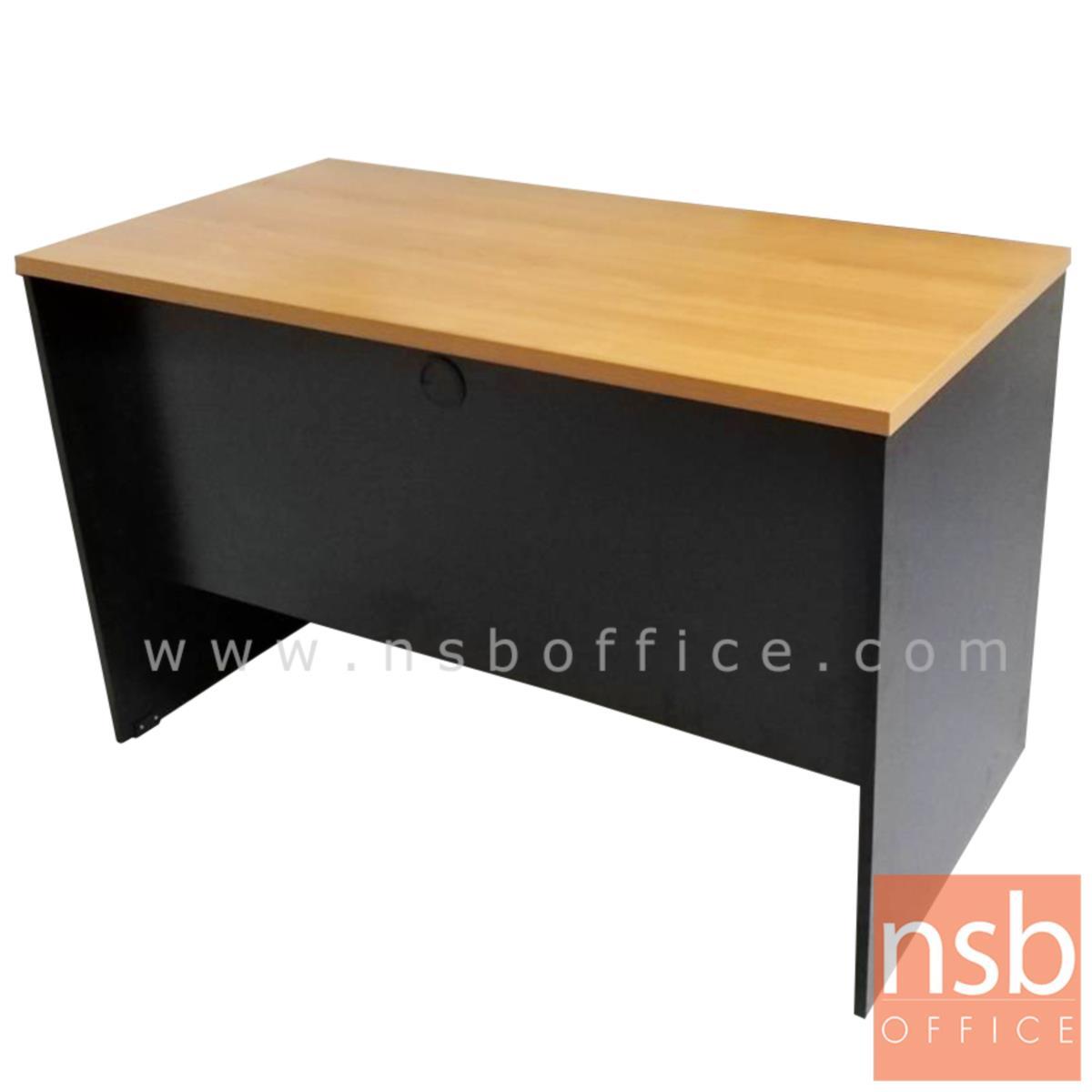 A12A018:โต๊ะทำงานโล่ง รุ่น Sledge (สเลดจ์) ขนาด 80W ,120W ,150W (60D ,75D) cm.  เมลามีน
