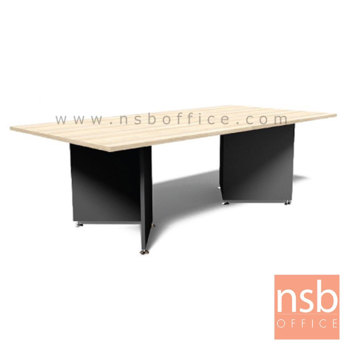 A05A180:โต๊ะประชุมทรงสี่เหลี่ยม  รุ่น Severus ขนาด 240W cm. เมลามีน