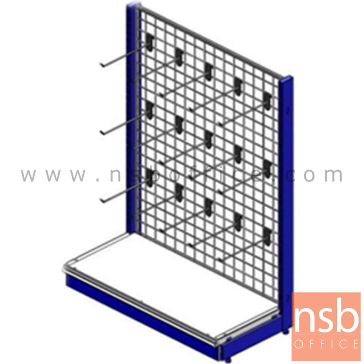 D06A016:ชั้นวางสินค้า 1 หน้าแบบฮุกร์แขวนตาข่าย รุ่น KANDERSTEG (คันเดอร์ชเตค) 40D cm.