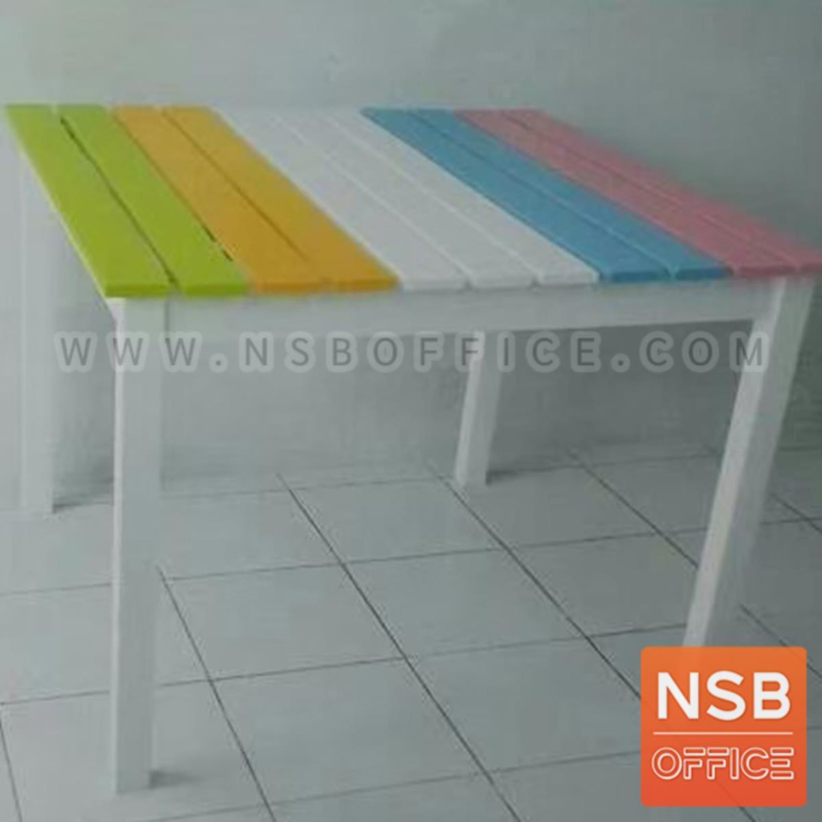 G20A022:โต๊ะสนามไม้ รุ่น Dacian (ดาเชียน)  ขนาด 90Di*75H cm.