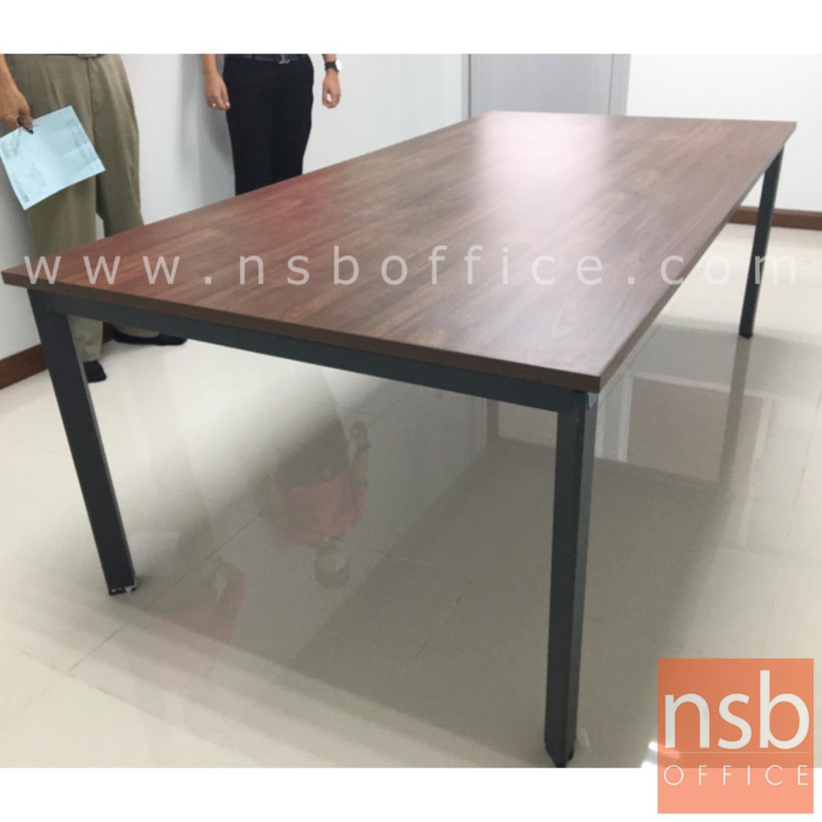 โต๊ะประชุมทรงสี่เหลี่ยม รุ่น LISBON (ลิสบอน) ขนาด 180W, 220W cm.