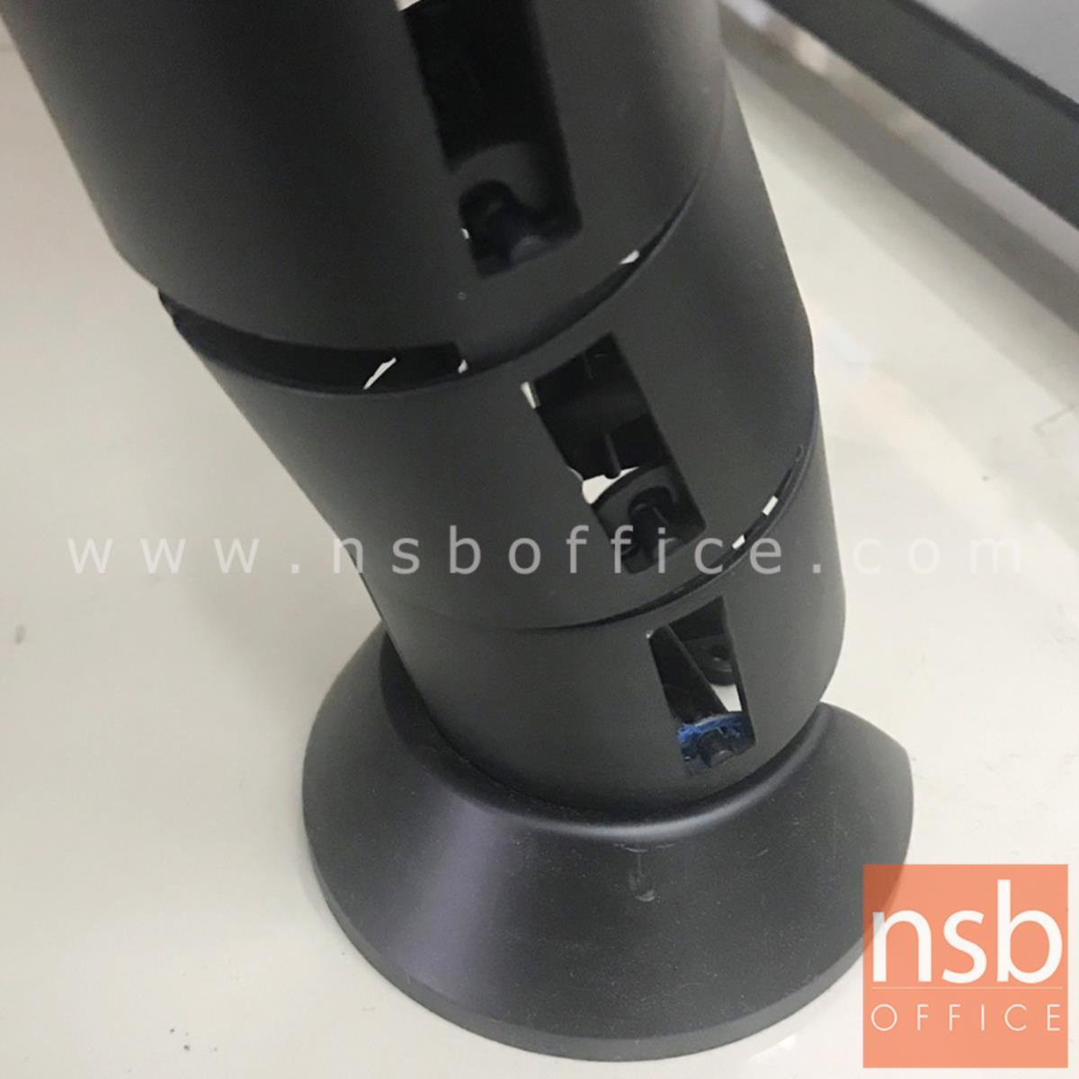 กระดูกงูร้อยสายไฟสีดำ  รุ่น TJ-1919 ขนาด 73H cm.
