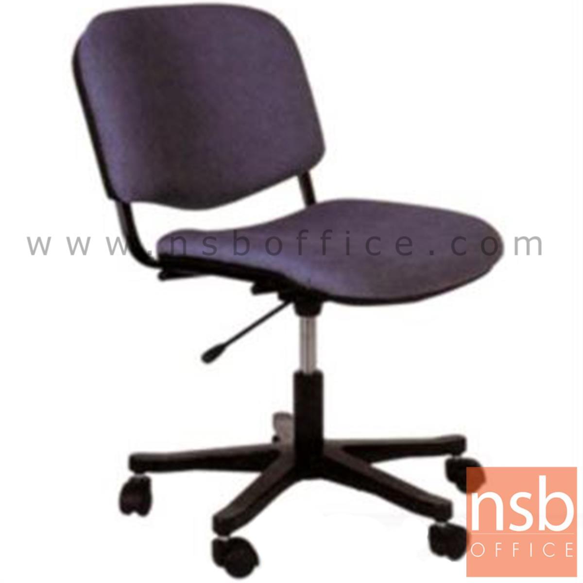 B21A001:เก้าอี้สำนักงาน รุ่น P160  โช๊คแก๊ส ขาพลาสติก