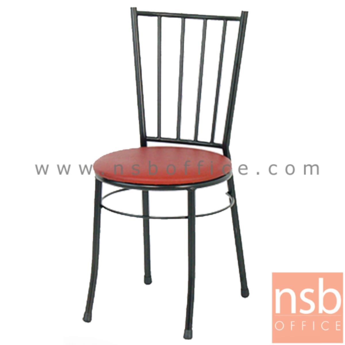 B20A041:เก้าอี้อเนกประสงค์เหล็ก รุ่น WILLY-BB  ขาเหล็กพ่นดำ