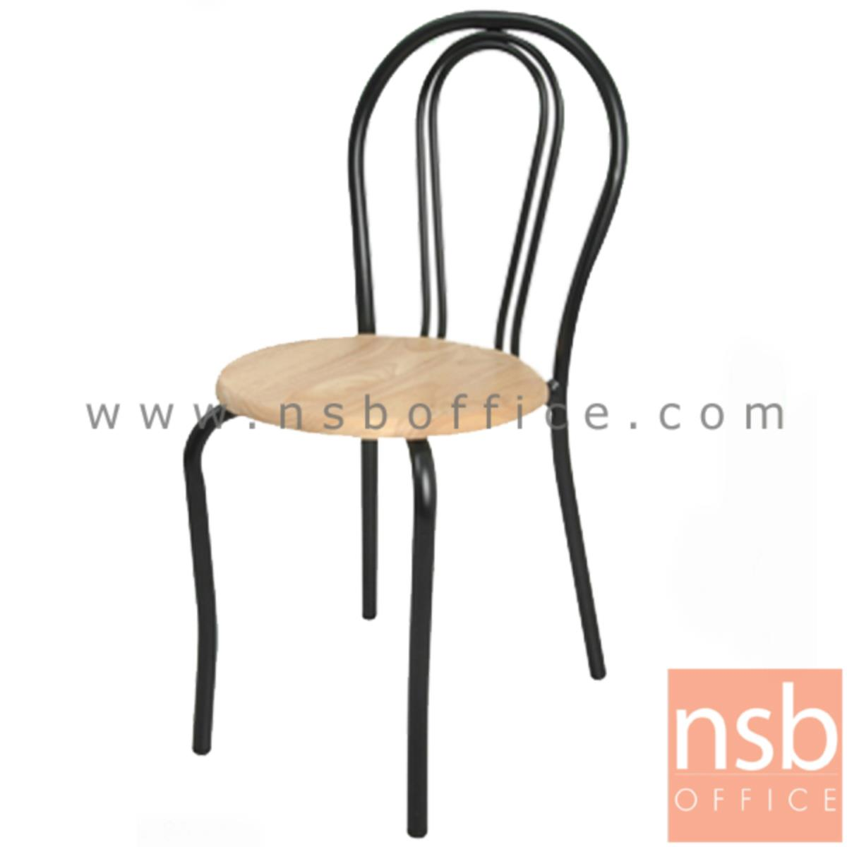 B20A044:เก้าอี้อเนกประสงค์เหล็ก รุ่น FRESHY-BW  ขาเหล็กพ่นดำ