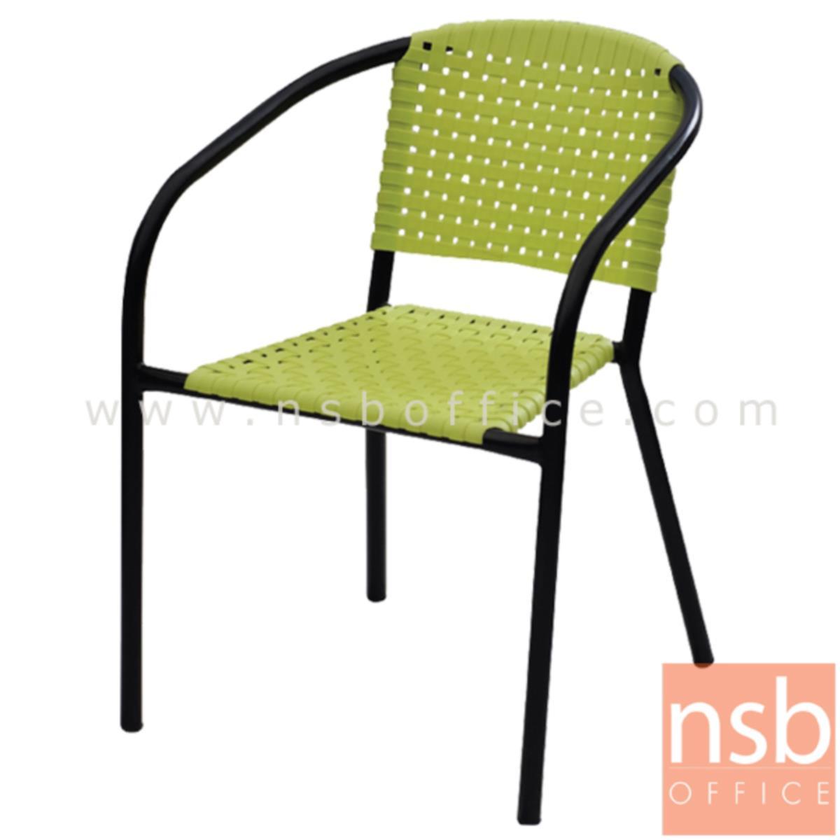 เก้าอี้อเนกประสงค์พลาสติก รุ่น NP-91912  โครงขาเหล็กพ่นดำ