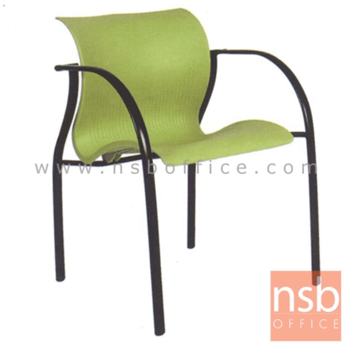เก้าอี้อเนกประสงค์เฟรมโพลี่ รุ่น A2-801 ขาเหล็ก