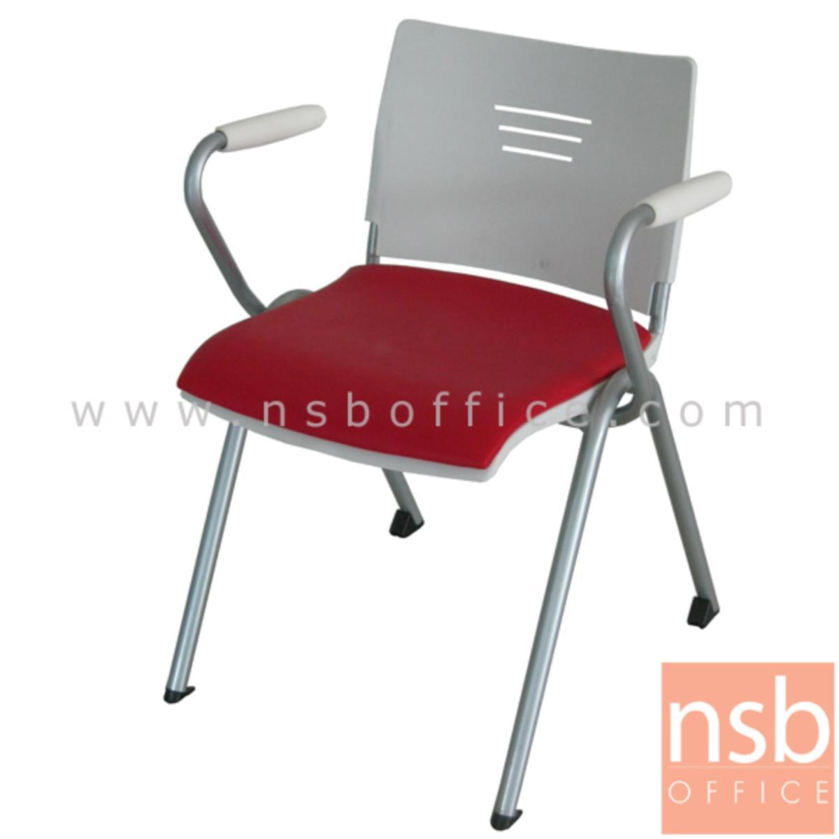 เก้าอี้อเนกประสงค์เฟรมโพลี่ รุ่น Merlock (เมอร์ล็อก)  ขาเหล็กพ่นสี epoxy