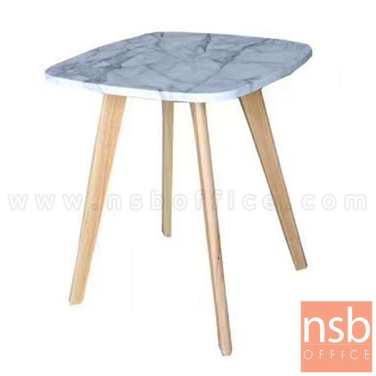 B13A288:โต๊ะกลางไม้ รุ่น Benviar (เบนเวียร์) ขนาด 53H cm. ขาไม้