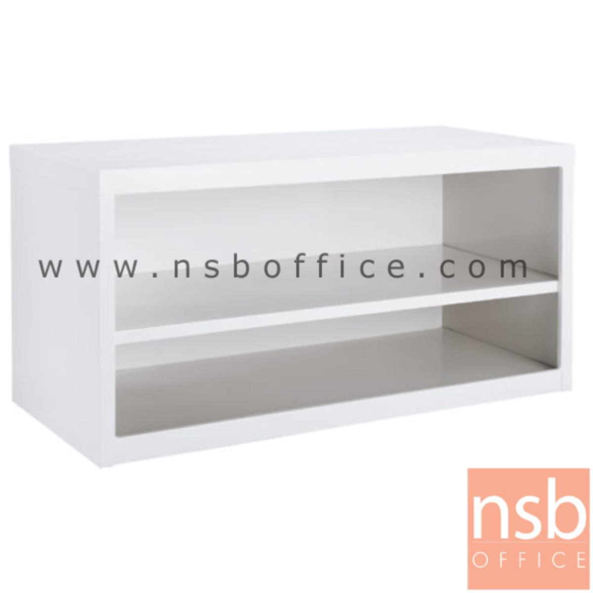 E25A007:ตู้เหล็ก 2 ชั้นโล่ง สีขาวครีม 88W*40.7D*44H cm. รุ่น USB-3