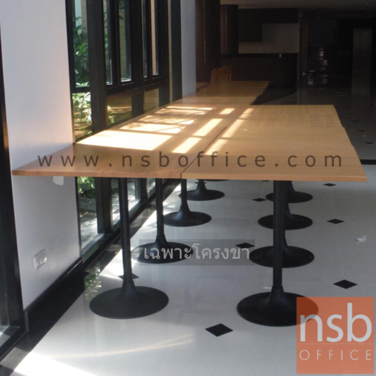 ขาโต๊ะบาร์ รุ่น Wonder (วันเดอร์) ขนาด 41W*70H cm. ขาเหล็ก