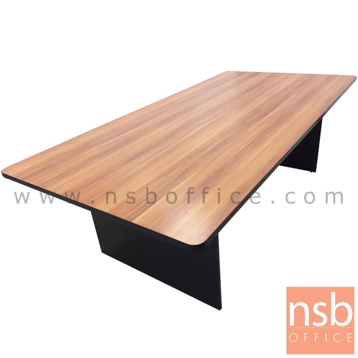A05A219:โต๊ะประชุมทรงสี่เหลี่ยมมุมมน รุ่น Morocco (โมรอคโค)  เมลามีนล้วน