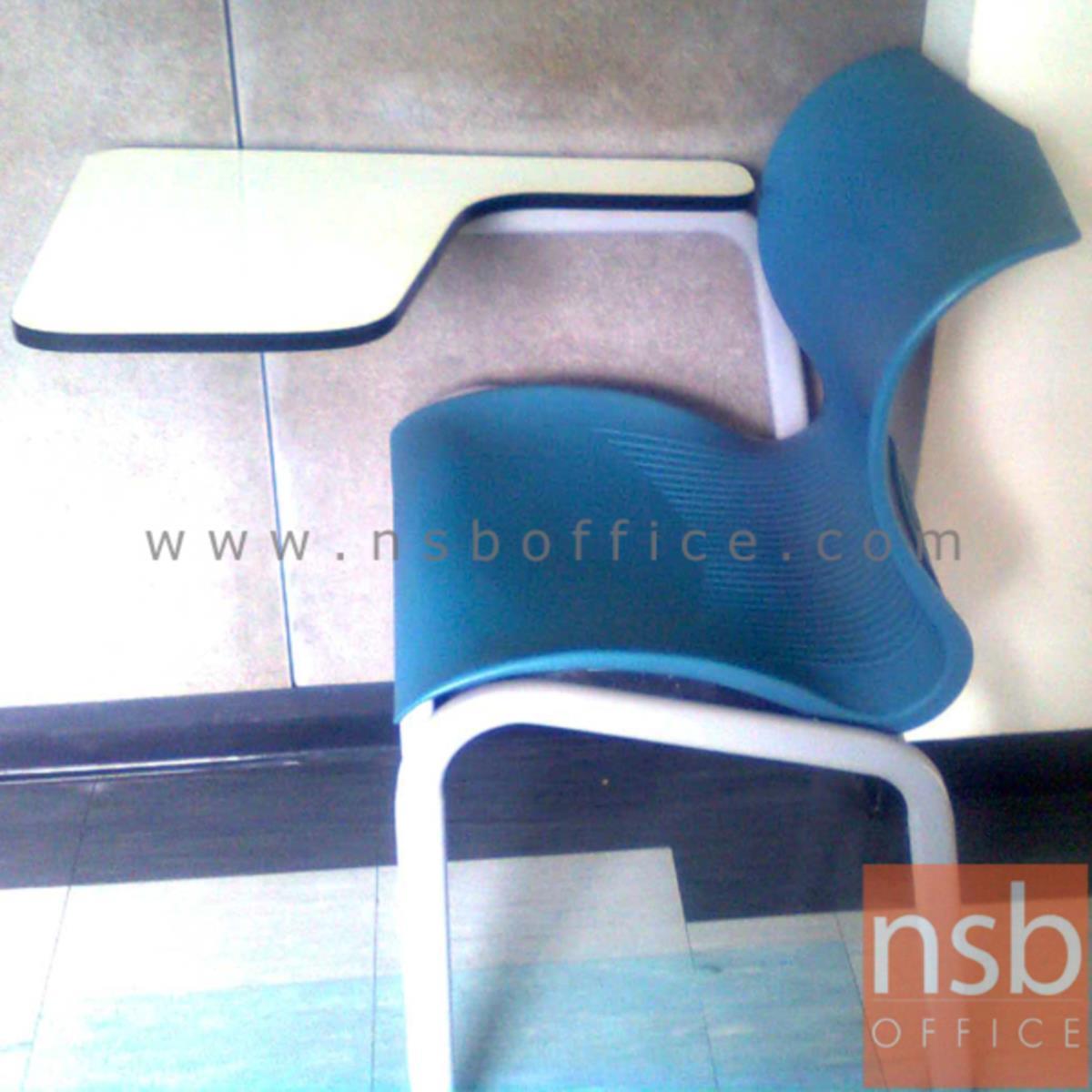 เก้าอี้เลคเชอร์เฟรมโพลี่ รุ่น C6-701 ขาเหล็ก