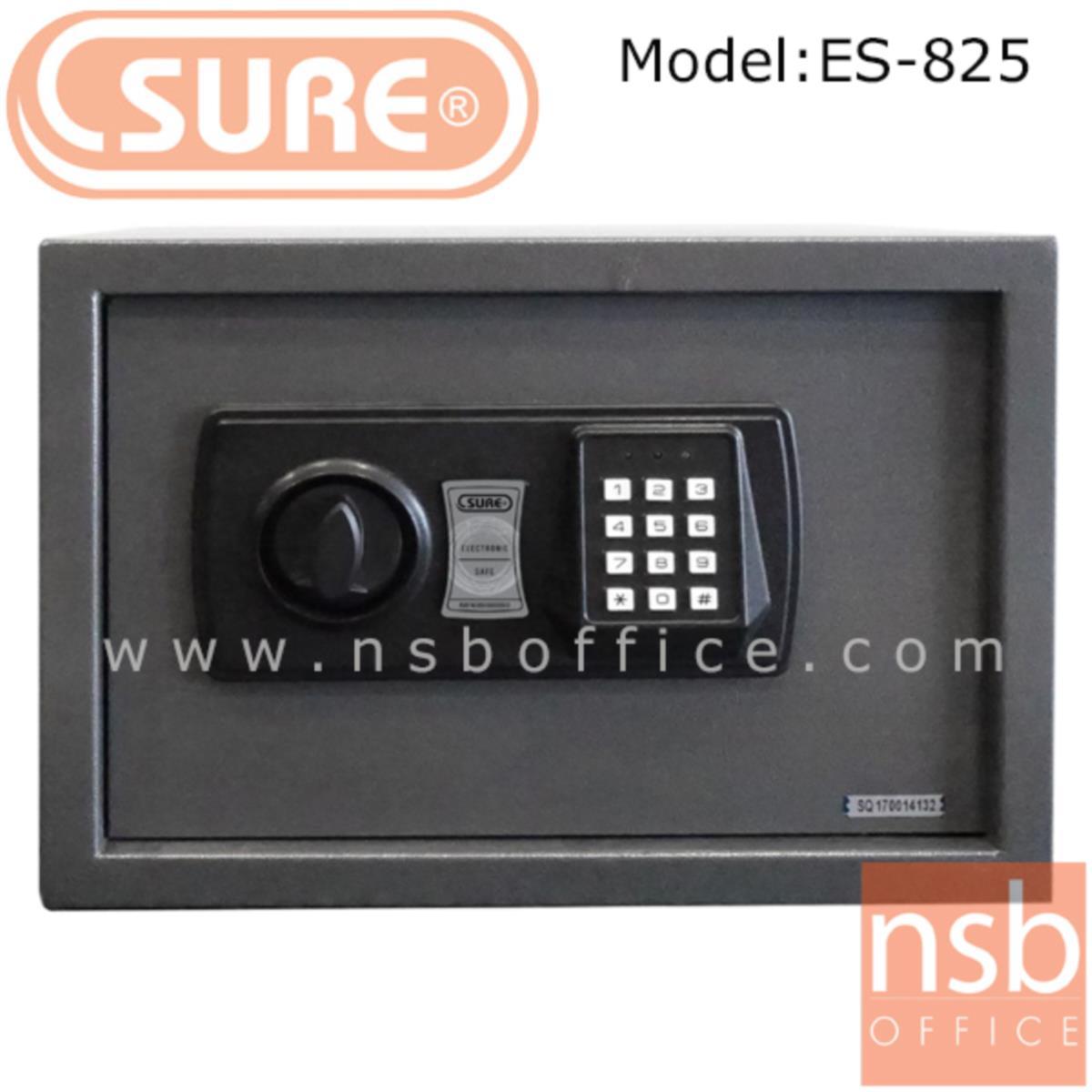 ตู้เซฟดิจตอล SR-ES825 น้ำหนัก 5.5 กก. (1 รหัสกด / ปุ่มหมุนบิด)