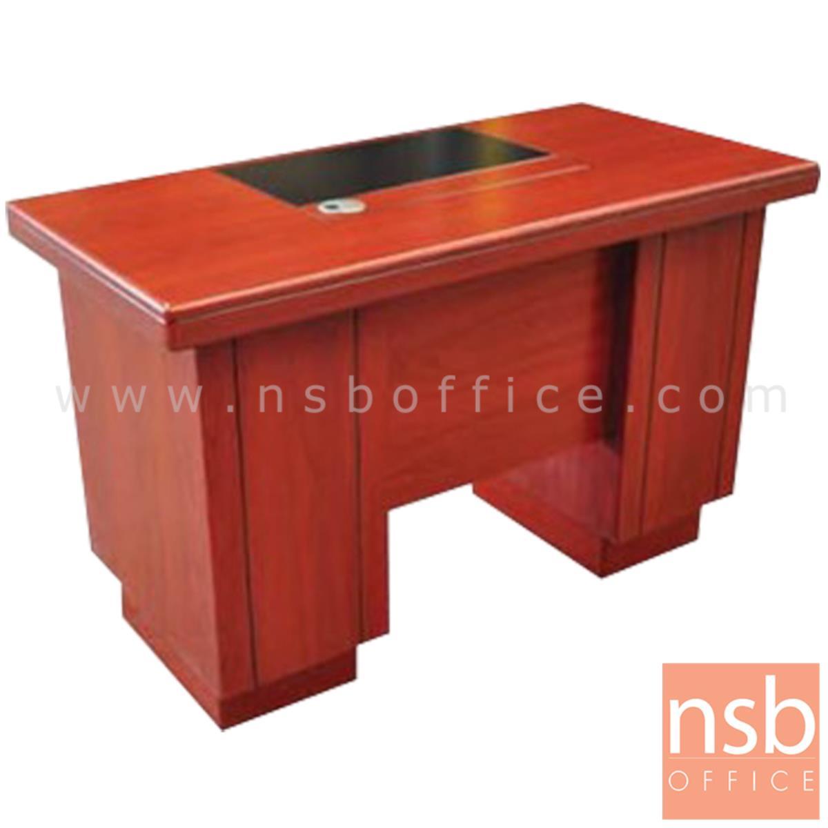 A06A143:โต๊ะผู้บริหาร รุ่น NIZHNY (นิจนี) ขนาด 140W cm.