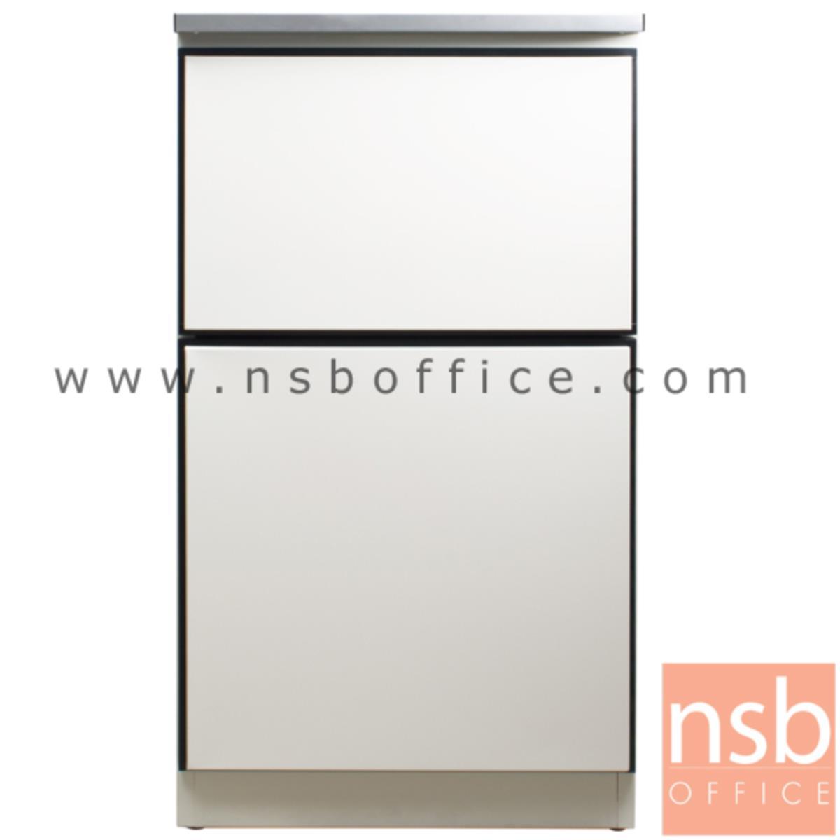 ตู้ครัวเหล็ก TOP สเตนเลส 1 ลิ้นชัก 1 บานเปิด รุ่น DOBBEL DB-101
