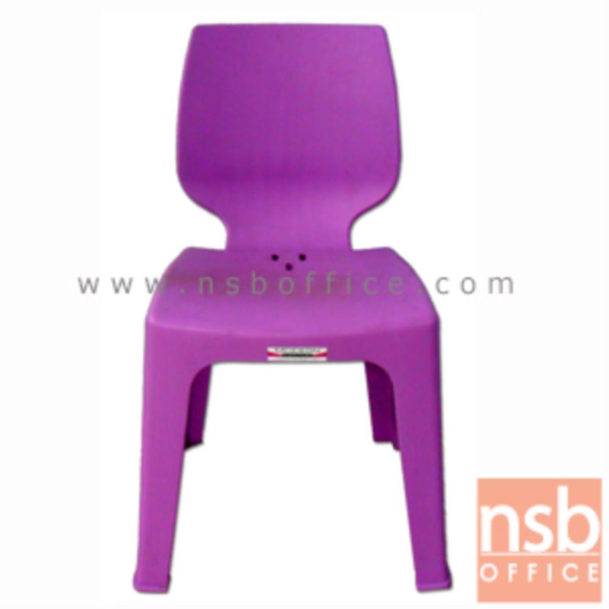 B10A077:เก้าอี้พลาสติก รุ่น CD-MD-02 ซ้อนเก็บได้ (พลาสติกเกรด A)