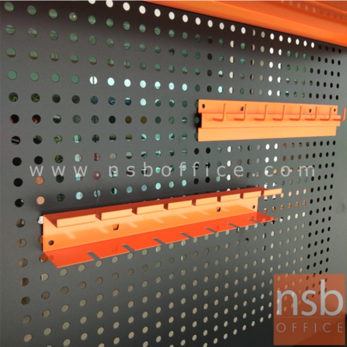 E09A018:ที่แขวนเครื่องมือช่าง ผลิตสีส้ม   (ไขควง ประแจ)