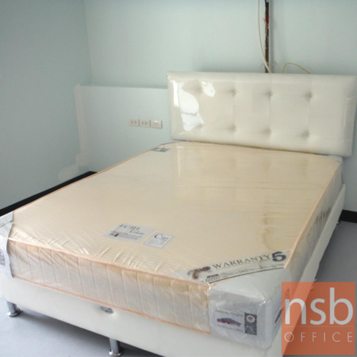 เตียงหัวสูงสไตล์โมเดิร์น  รุ่น RA011 เสริมขา (ผลิต 3 ขนาด 3.5,  5 และ 6 ฟุต)