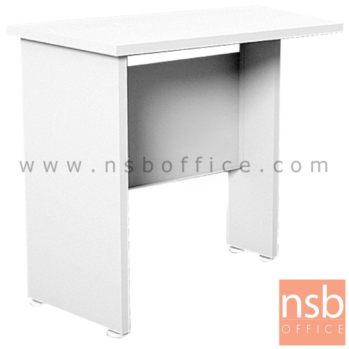 A20A031:โต๊ะเข้ามุม  รุ่น Nightlight (ไนท์ไลท์) ขนาด 80W cm. สีขาวล้วน