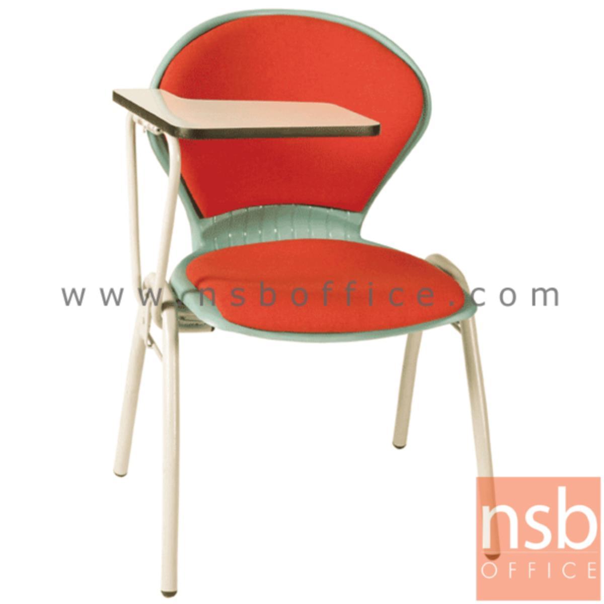 B07A054:เก้าอี้เลคเชอร์เฟรมโพลี่ รุ่น C176-566 ขาเหล็กพ่นสี