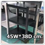 D05A002:ชั้นเหล็กสำนักงาน 45W*38D cm. (ทุกความสูง) ขนาดเล็กเหมาะใส่ล้อเลื่อน
