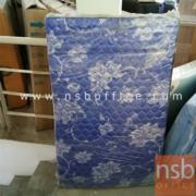L06A031:ที่นอนลายดอก สีน้ำเงิน มีจำนวน2ชิ้น ขนาด3ฟุต*6ฟุต