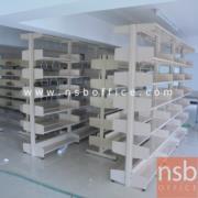 D01A006:ชั้นห้องสมุด 6 ชั้นแบบ 2 ตอน 187W*49D*196H cm