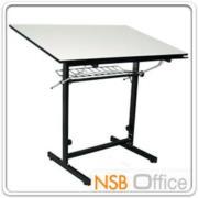 E06A023:โต๊ะเขียนแบบ 80W*60D*95.3H cm. ปรับองศาได้ มีตะแกรงข้างใต้ รุ่น DT-6080