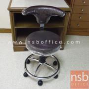 B09A076:เก้าอี้คุณหมอ สูง 78 ซม. มีพักเท้า TK-120 ปรับโช๊คแก๊ส ขาล้อ 5 แฉก