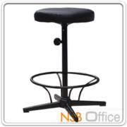 B09A071:เก้าอี้สตูลสูง เบาะกลม N-311 ขนาด Di30.5*H67 cm มีที่พักเท้า ขาเหล็ก