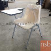 B07A082:เก้าอี้เลคเชอร์ ที่นั่งพลาสติกโพลี่ รุ่นเส้นคาดข้าง SH-02