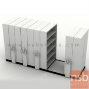 D02A006:ตู้รางเลื่อนแบบพวงมาลัย 5, 7, 9 ตู้ TAIYO (มือหมุน) มาตรฐาน มอก. 63-2523