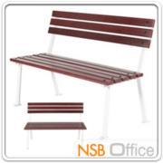 G08A039-2:เก้าอี้สนามไม้เต็ง เหล็กหล่อ 100 cm. กทม. รุ่น BKK-CS10