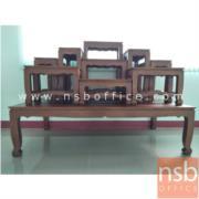 G18A004:โต๊ะหมู่บูชาหมู่ รุ่น NT03 หมู่ 7 , 9 หน้ากว้าง 7 , 9 นิ้ว