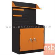 E09A019:ชุดตู้เก็บเครื่องมือช่าง 2 บานเปิด 91.6W cm. รุ่น SET-BTY90 พร้อมแผ่นท็อป แผ่นชั้น และอุปกรณ์เสริม